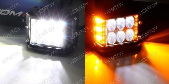 30W SS LED Strobe Pod Light