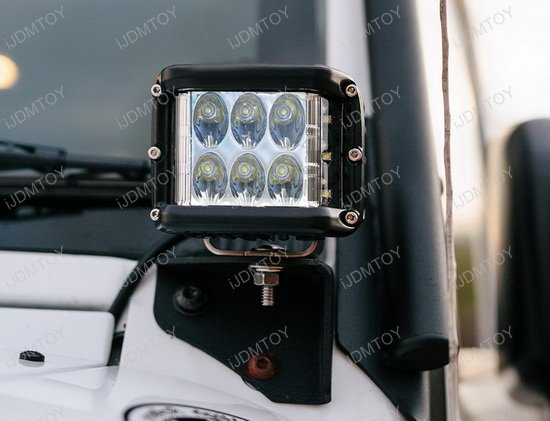 37W Dually SS LED Pod Light