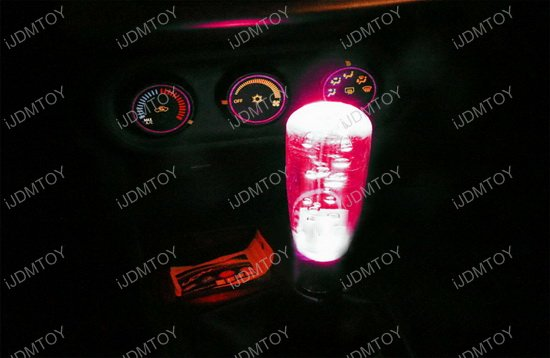 RGB LED Illuminated Shift Knob