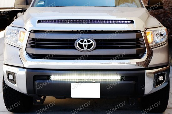 2005 Up Toyota Tacoma 14 Up Tundra 150w Spot Osram Led