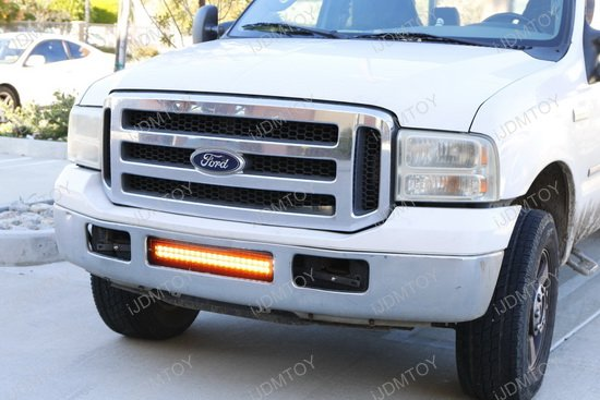 Ford F250 Dual Color LED Light Bar