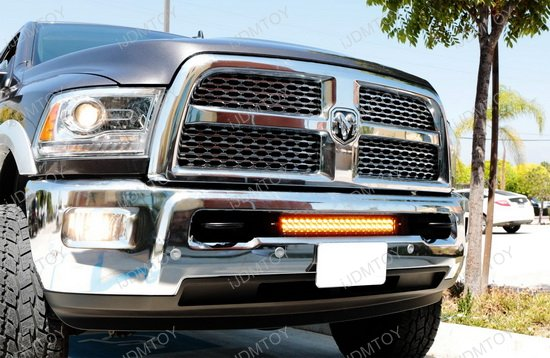 Dodge Ram 2500 3500 Dual Color LED Light Bar