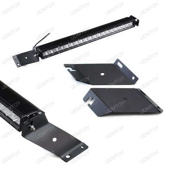 Jeep Wrangler JK LED light bar system