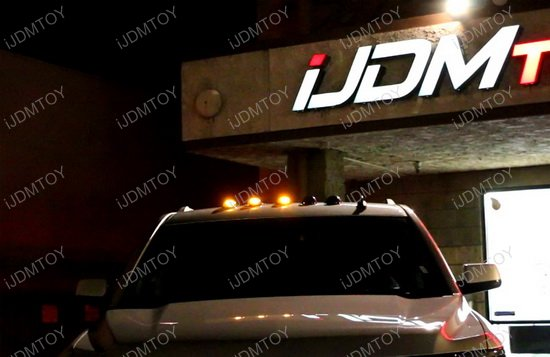 iJDMTOY Cab Roof Light w/ Flashing Feature