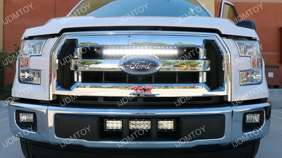 20 54w high power led light bar for 2015 up ford f 150 ford f150 led light bar combo mozeypictures Image collections