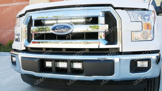 20 54w high power led light bar for 2015 up ford f 150. Black Bedroom Furniture Sets. Home Design Ideas