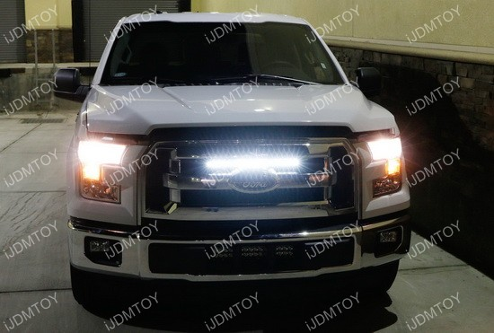 20 Quot 54w High Power Led Light Bar For 2015 Up Ford F 150
