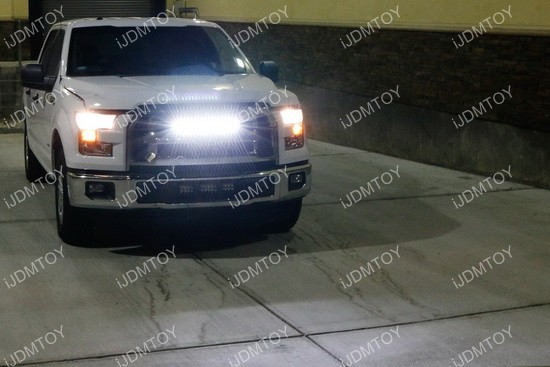 20 54w high power led light bar for 2015 up ford f 150 ford f150 led light bar combo aloadofball Choice Image