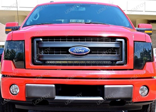150w high power led light bar for 2009 2014 ford f 150 f150. Black Bedroom Furniture Sets. Home Design Ideas