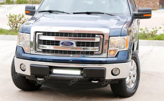 96w high power led light bar for 2009 2014 ford f 150 f150 ford f150 led light bar combo mozeypictures Gallery