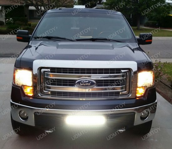Ford F Led Light Bar Combo on Relay Switch With Led Light Bar