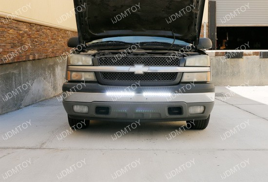 Chevy Silverado 1500 LED Light Bar