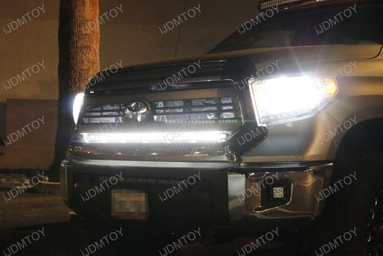Toyota Tundra Behind Grille Led Light Bar on led light bar wiring harness relay