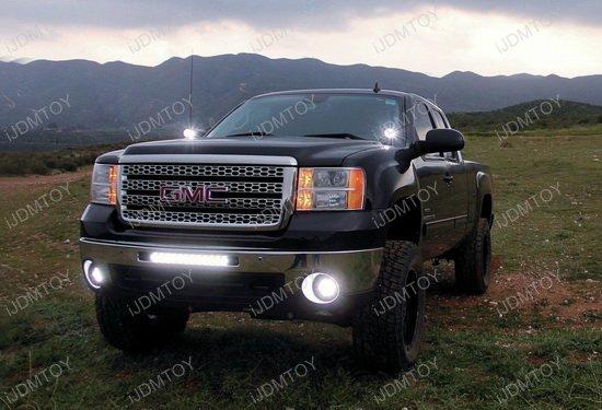 100W Lower Bumper LED Light Bar for GMC 1500 2500HD 3500HD