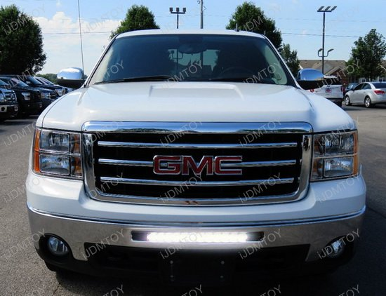 GMC LED Light Bar Combo