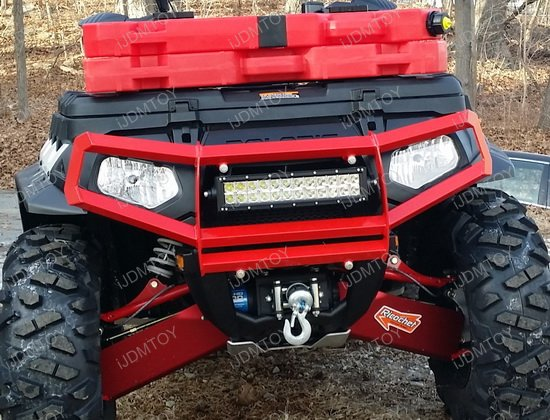 72w high power led light bar with mount bracket for atv utv atv utv 72w led light bar mozeypictures Choice Image
