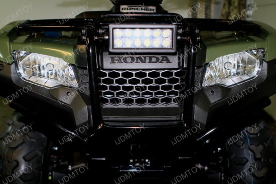 36w high power led light bar with mounting bracket for atv utv dirt bike atv utv 36w led light bar aloadofball