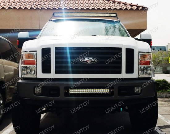 Ford F250 LED Light Bar Combo