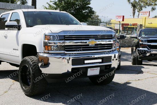 Chevy Silverado 2500 3500 LED Light Bar