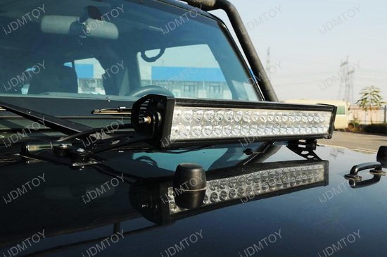 Jeep Wrangler Hood LED Light Bar