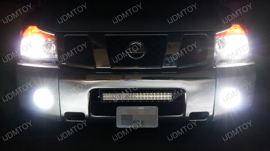 Nissan Titan LED Light Bar