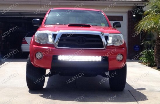 180w high power cree led light bar for 2005 2015 toyota tacoma toyota tacoma double row led light bar aloadofball Image collections