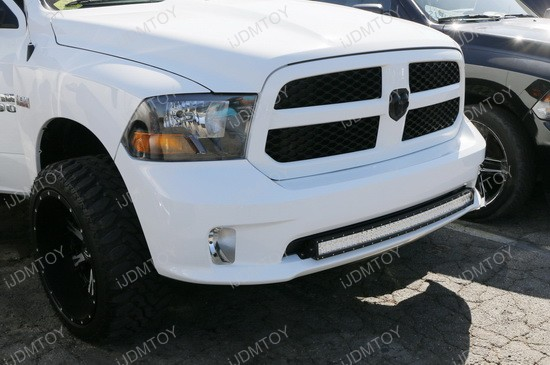2009 up dodge ram 1500 express cree 240w curved led light bar dodge ram curve led light bar aloadofball Image collections