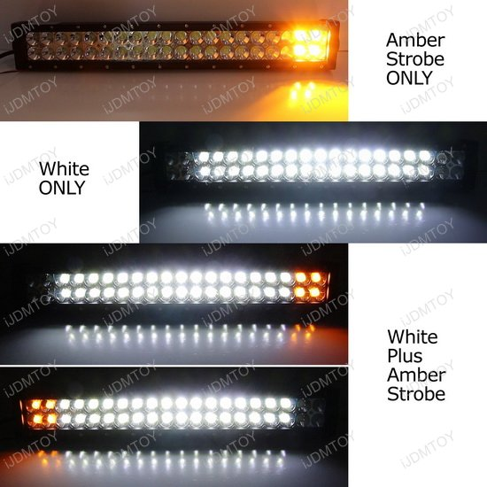 2016 Dodge Ram 3500 >> 120W White Amber Strobe LED light bar Dodge Ram 3500 2500