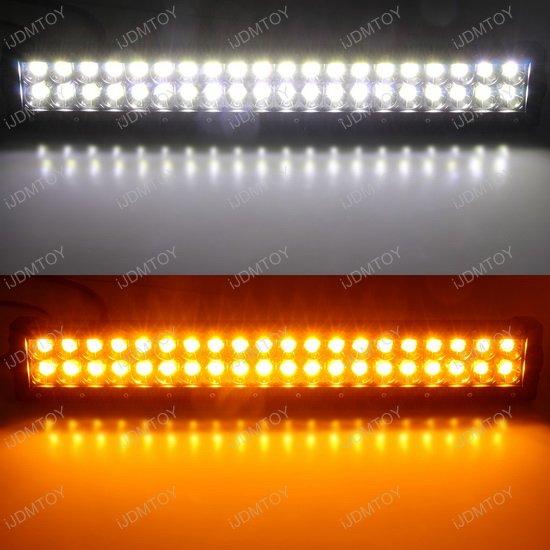 Ford F25 Dual Color LED Light Bar
