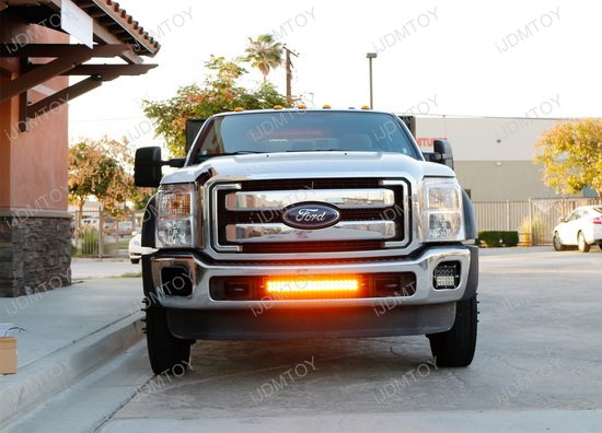 Ford F25 Dual Color LED Light Bar