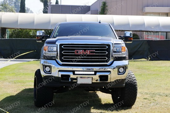GMC 2500 Lower Bumper LED Light Bar