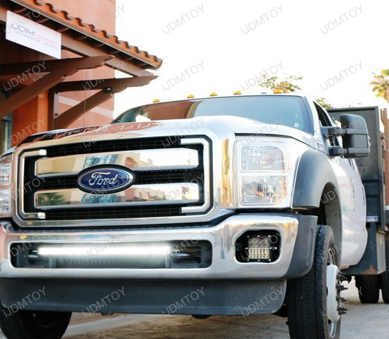 Ford F Lower Bumper In Led Light Bar on ford truck wiring harness