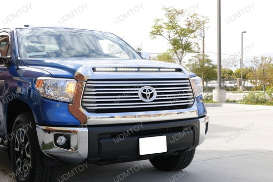 Toyota Tundra Hood Scoop LED Light Bar