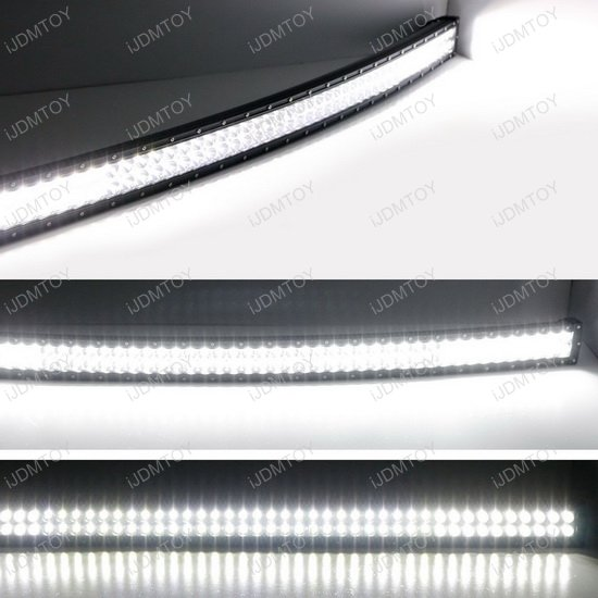 Dodge RAM 2500 3500 Curve LED Light Bar