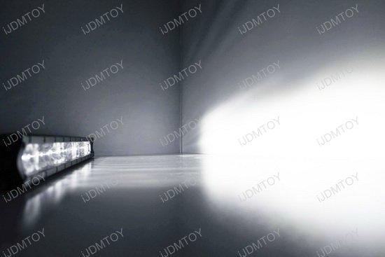 Jeep Wrangler Hood LED Light Bar