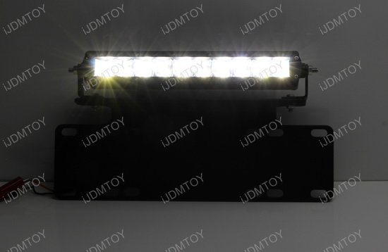 50W Front License Plate LED Light Bar