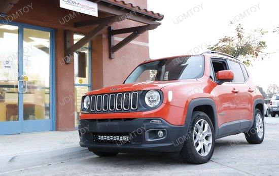 Jeep Renegade Behind Grille LED Light Bar