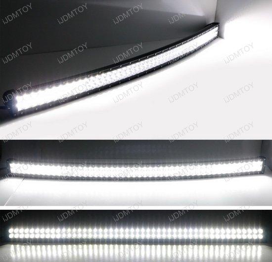 Chevy GMC 50 Curve LED Light Bar Kit