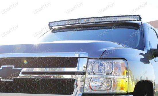 Chevy GMC 50 Curve LED Light Bar Kit