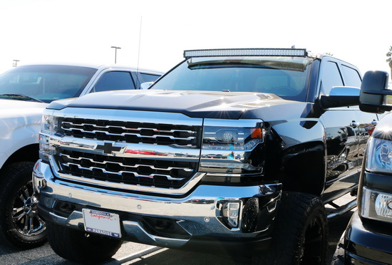 Chevy GMC LED Light Bar Kit