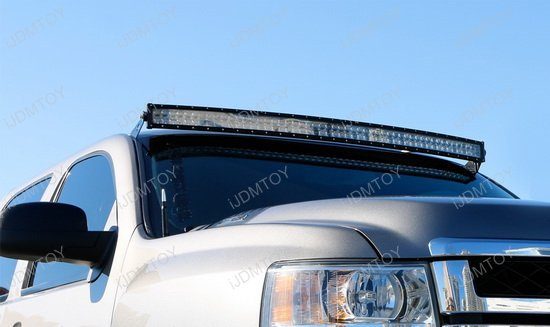 Chevy GMC 50 Curved LED Light Bar Kit