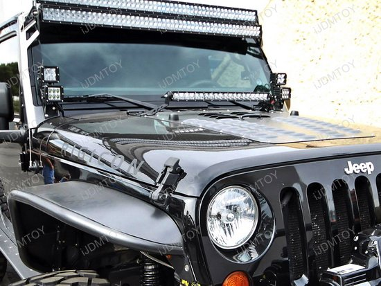 Jeep Wrangler Led Light Bar Kit on led light bar wiring harness relay