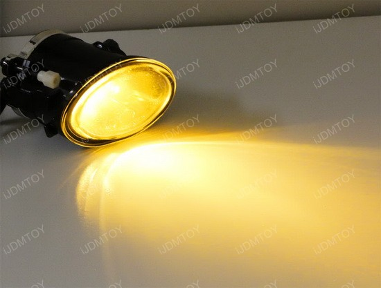 JDM Gold Yellow 3000K CREE H8 H11 LED replacement bulbs