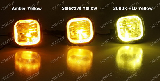 selective yellow 80w high power cree led fog light bulbs