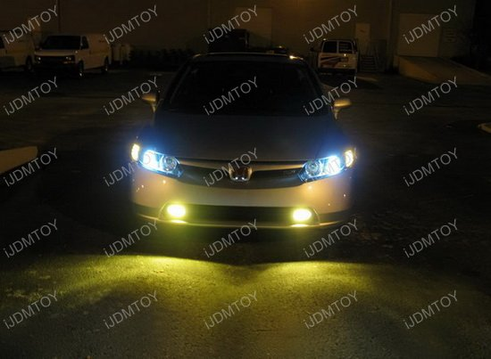 iJDMTOY 3000K Gold Yellow LED Conversion Kit