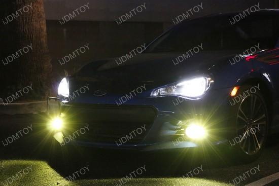Yellow LED Conversion Kit For Headlights Foglights
