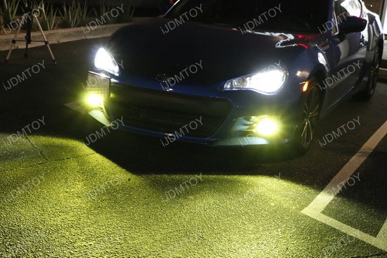 Yellow LED Conversion Kit For Headlights Foglights