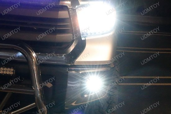 One Piece Integrated LED Headlights