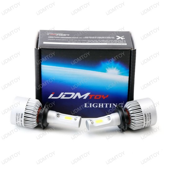 COB LED Headlights Bulbs
