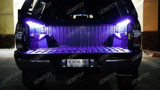 RGB LED Trunk Bed Light